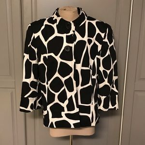 Women's East 5th Giraffe Print Jacket Size L